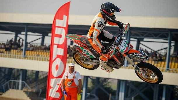 Майкъл Иванов с КТМ стана за първи път европейски шампион