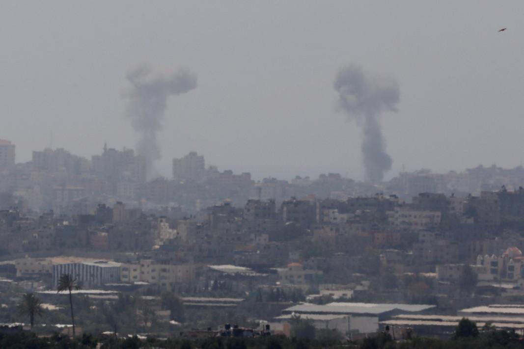 Израелската армия е атакувала 20 цели в Ивицата Газа в