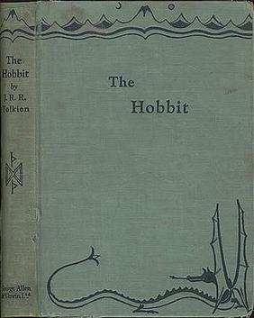 """Първото издание на """"Хобитът"""" от 1937 г."""