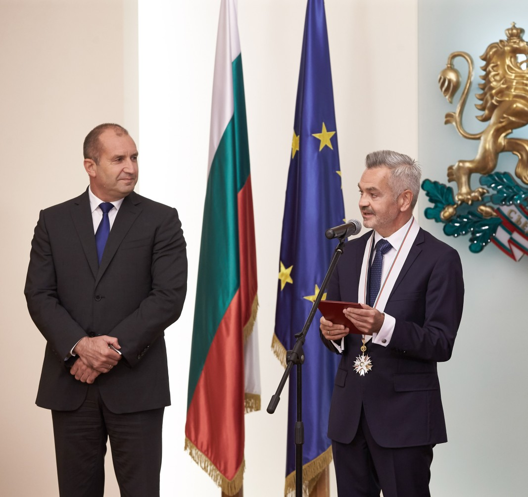 Посланикът на Полша Кшищоф Краевски беше награден с орден