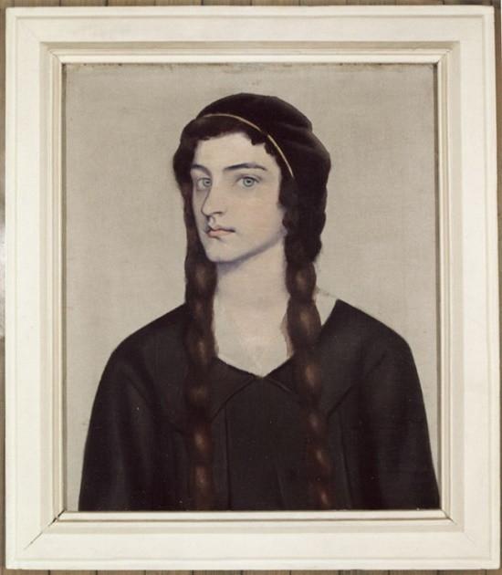 Retrato de Donka Paprikova por Vladimir Dimitrov, conocido como El Maestro