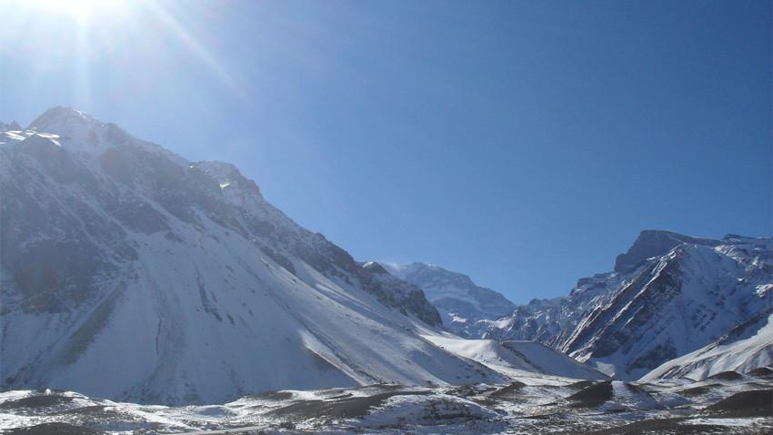 El Monte Aconcagua