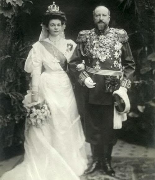Цар Фердинанц и съпругата му царица Елеонора  Снимка: Едуард Уленхут, Уикипедия