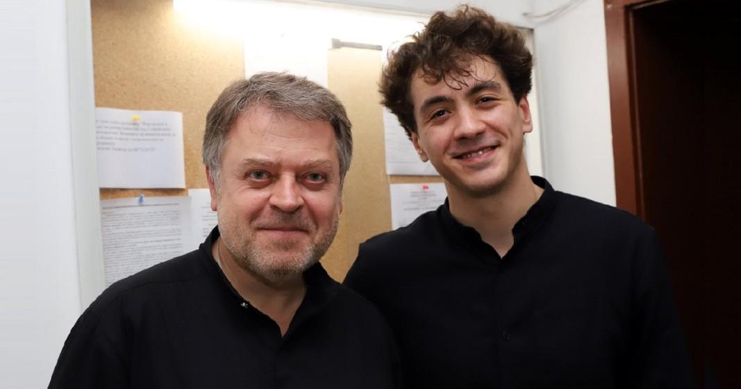 Константин Емелянов и Марк Кадин. Откриване сезона на Радиооркестъра през 2019 г.