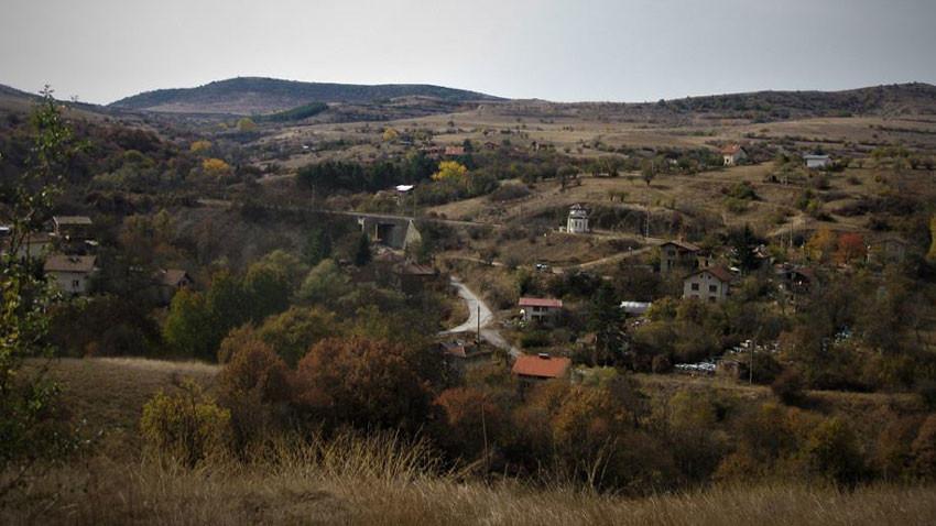 Θέα προς το χωριό Ραντούι