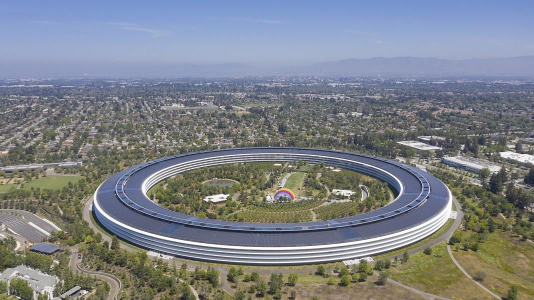 Сградата на Епъл в Калифорния
