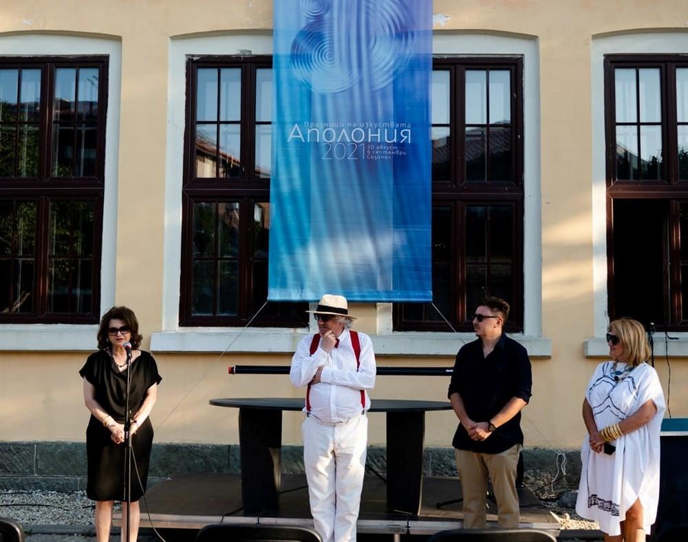 """Представяне на изложбата """"Нечовешки поглед""""  Снимка: Славена Илиева"""