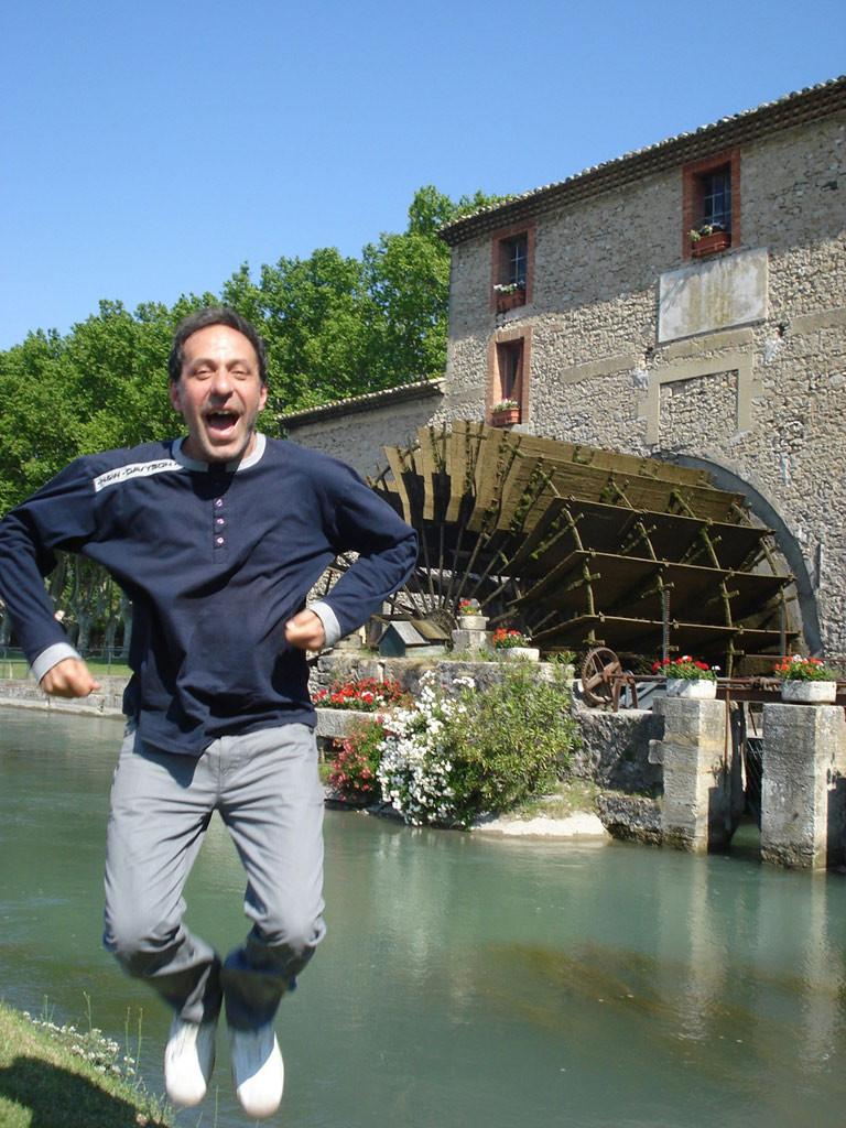 Робин Кафалиев в Люберон, Франция. Снимка: архив Робин Кафалиев