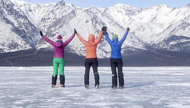 Женската експедиция на езерото Байкал