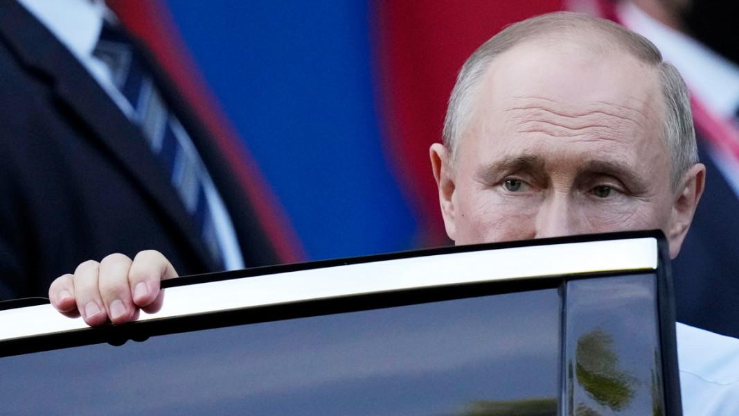 Руският президент Владимир Путин след срещата с американския държавен глава Джо Байдън. Женева, 16 юни, 2021 г.