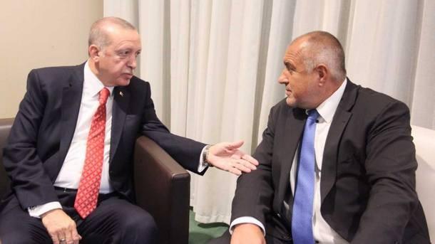 Премиерът Бойко Борисов и турският президент Реджеп Таийп Ердоган са