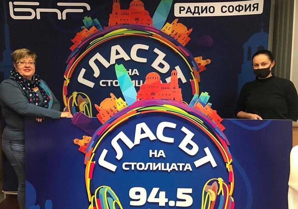 Мария Панайотова /д/ и водещата Катя Василева