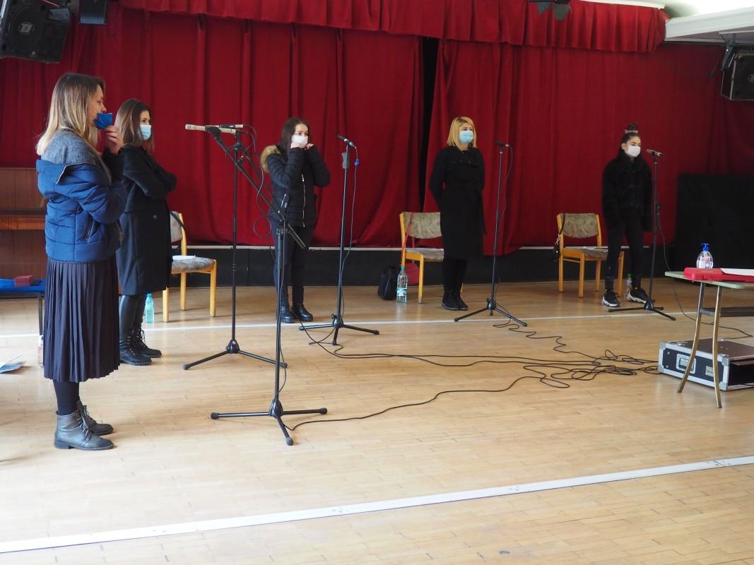 Нови Булгарски гласове- репетиция