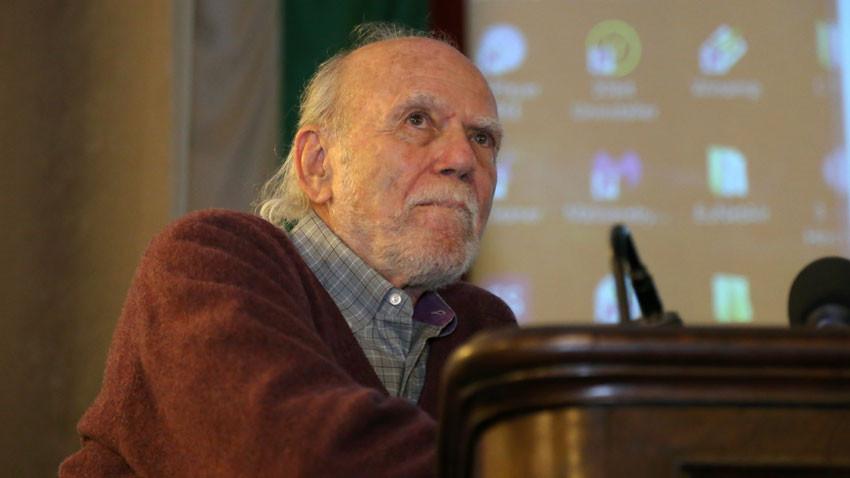 Снимка: Нобелистът Бари Бариш – гост на България