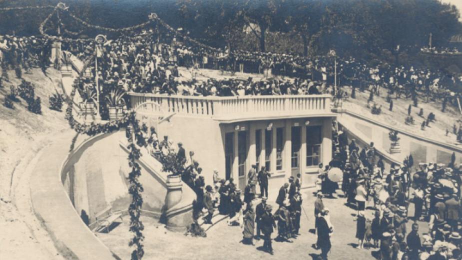 Откриване на Морските бани във Варна