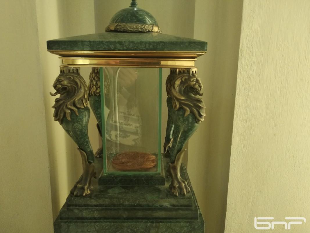 Стъкленицата с кичури от косата на Васил Левски