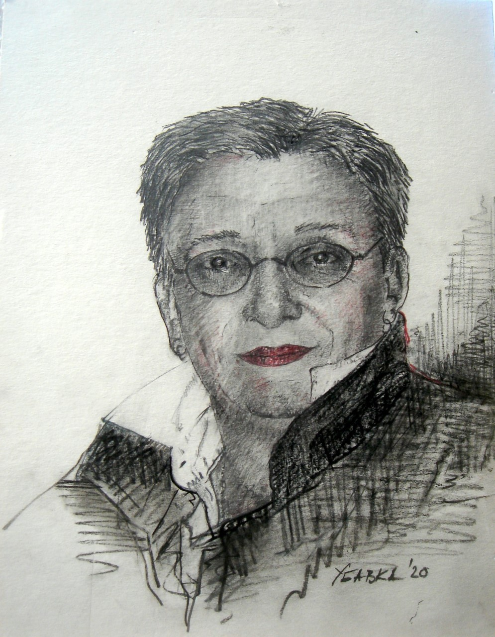 Автопортрет на Убавка Тончев