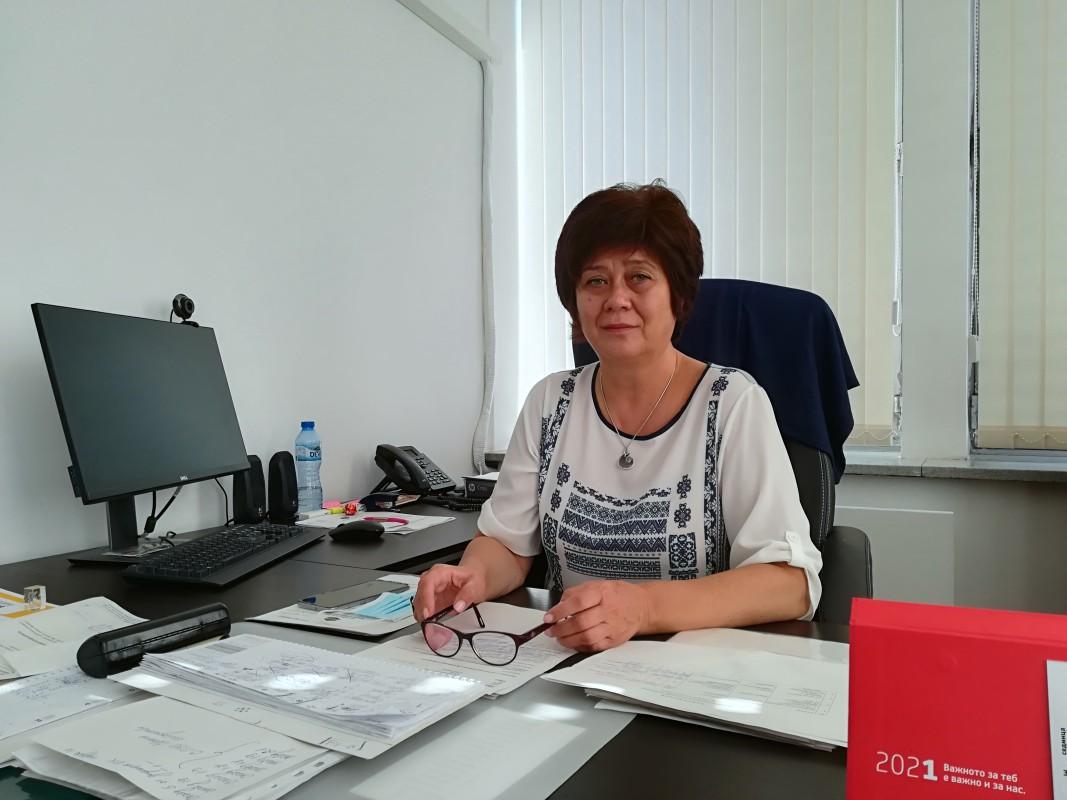 Галя Павлова, временно изпълняваща длъжността началник на РУО - Видин:
