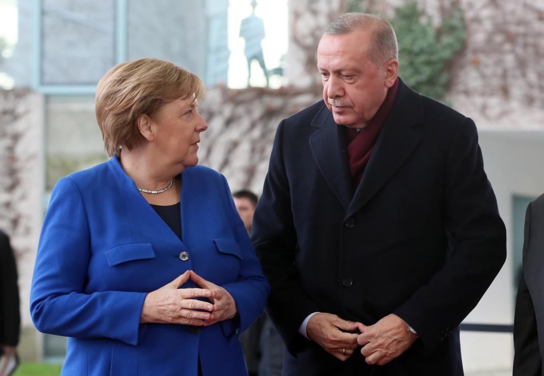 Ангела Меркел и Реджеб Ердоган