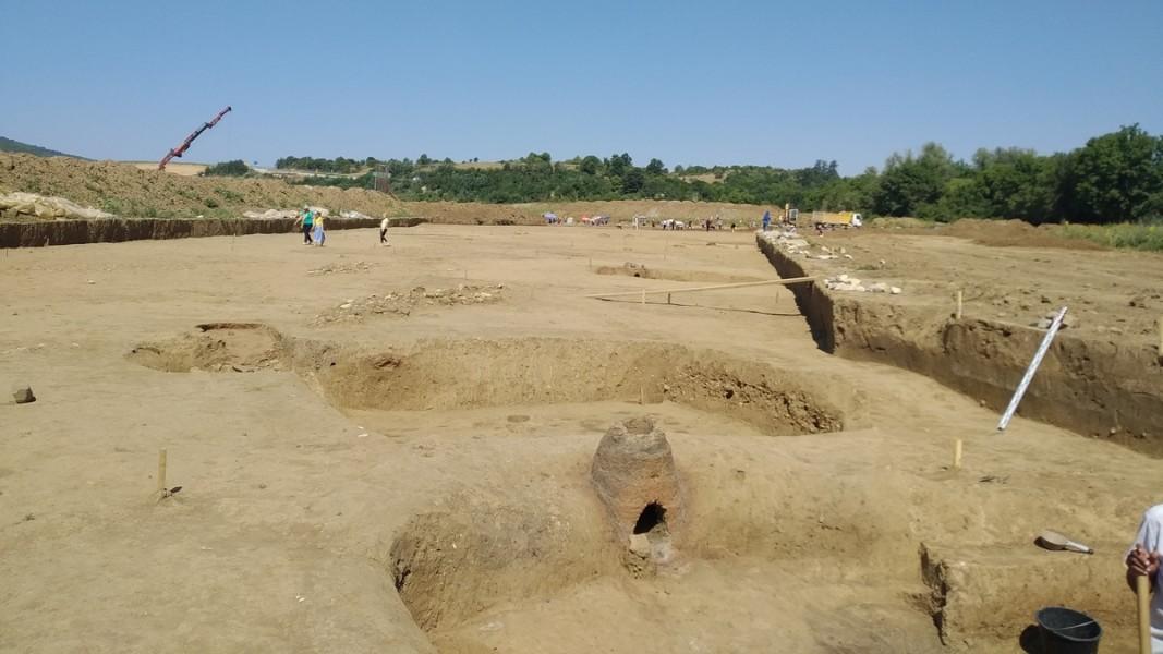 Археологически разкопки в района на Ловешкото село Брестница
