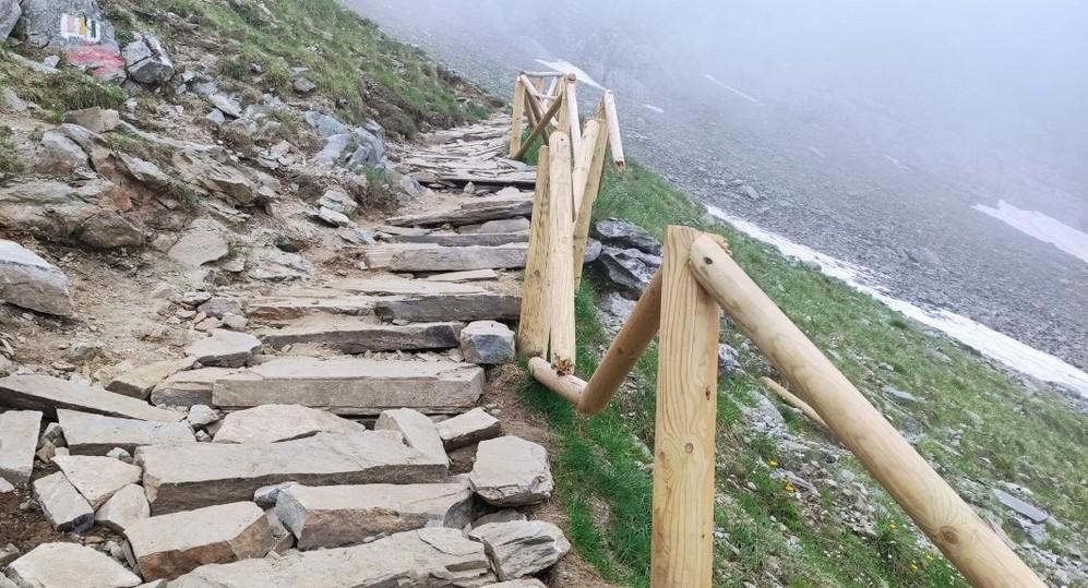 Пътеката до Седемте рилски езера     Снимка: Мая Щърбанова