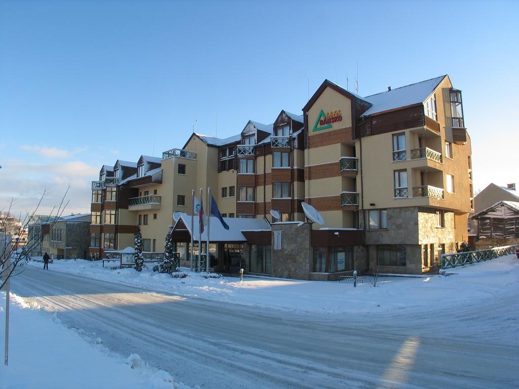 One of Bansko's hotels