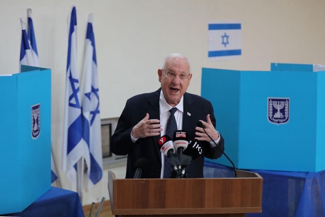 Президентът на Израел Реувен Ривлин
