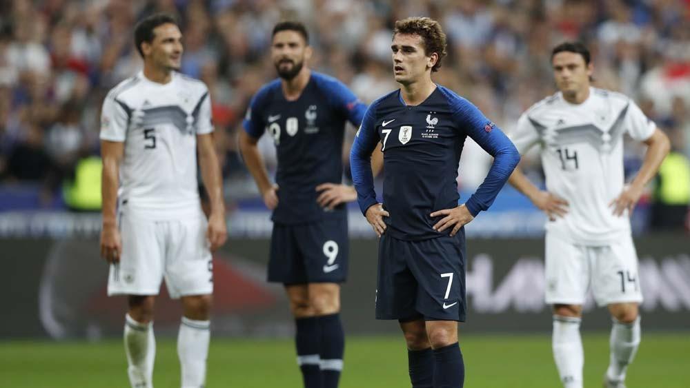 Световният шампион Франция победи Германия с 2:1 на