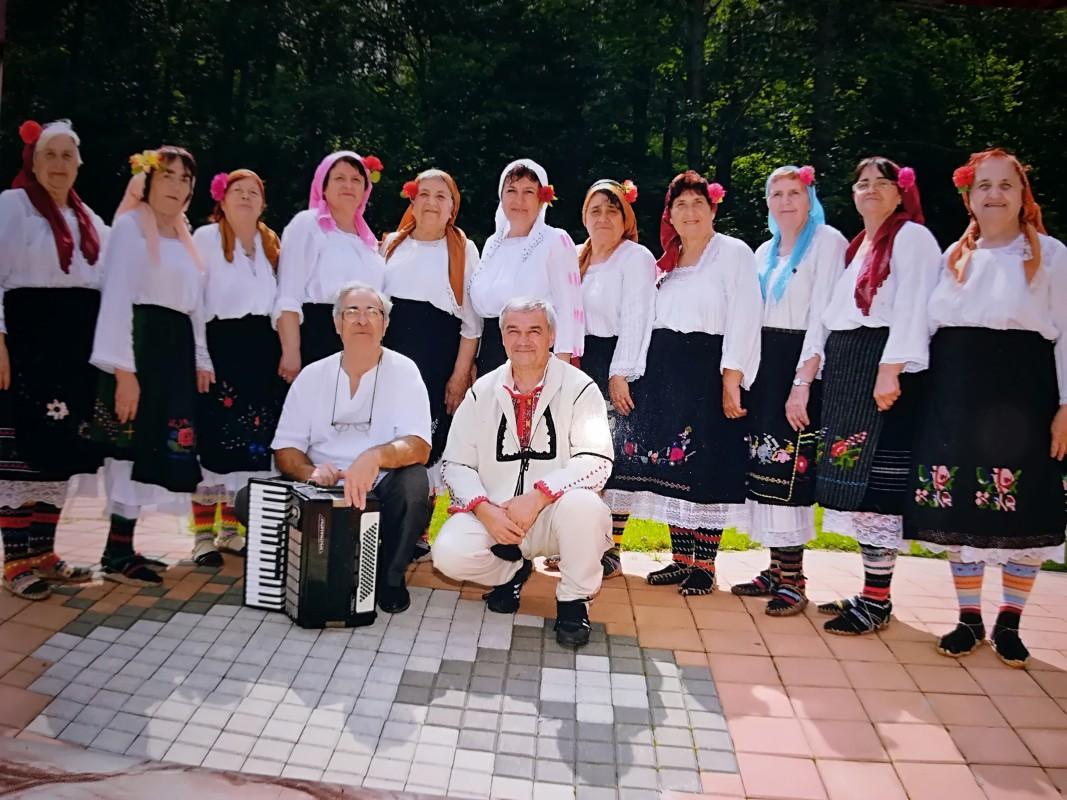 певческата група към читалището в село Стубел