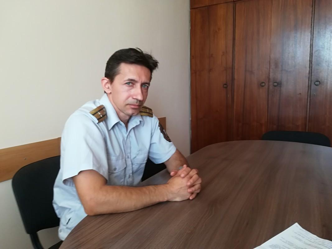 Георги Георгиев,  началник сектор в РД ПБЗН - Видин
