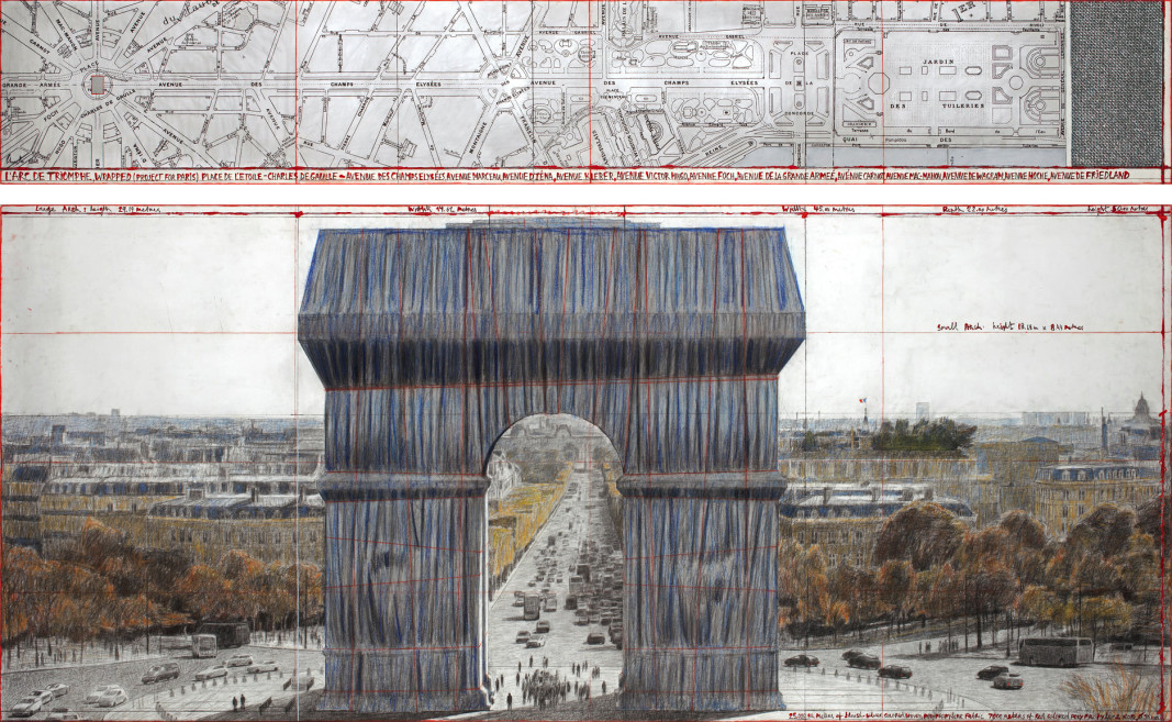 L'Arc de Triomphe, Wrapped – a project by Christo and Jean-Claude