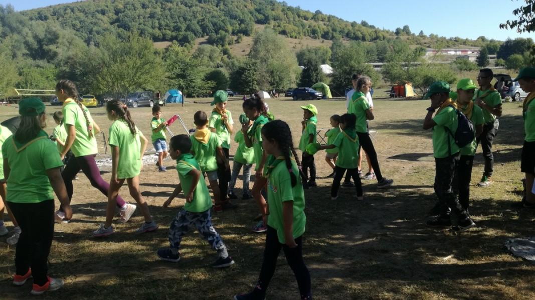 Скаутският лагер в Ново село                  Снимка: Здравка Маслянкова