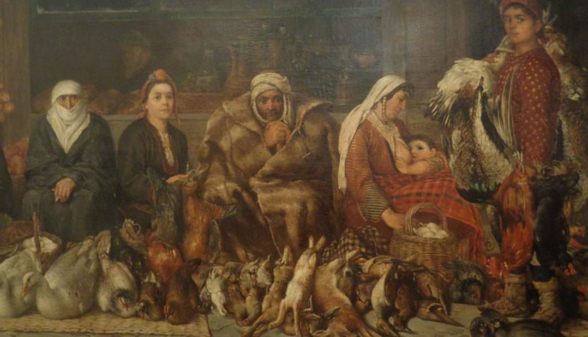 Ιβάν Μάρκβιτσκα, «Το παζάρι του Πλόβντιβ», 1887