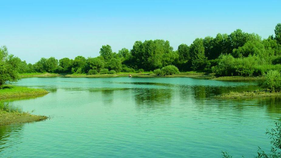 """Остров """"Ибиша"""" в река Дунав"""