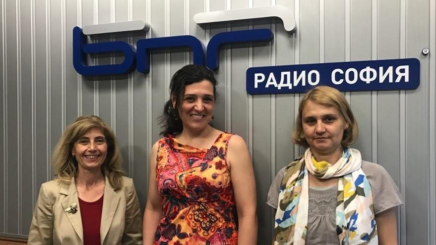 Йорданка Славчева, Геновева Маркова и Лилия Кръстева - Пеева