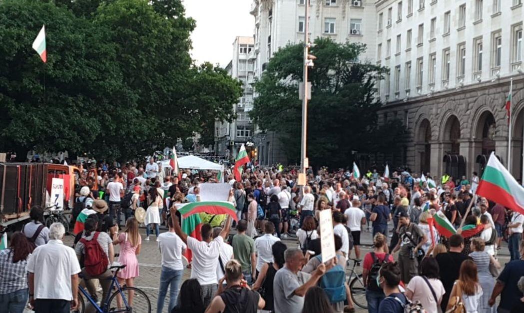 22-ри ден на протестите в София