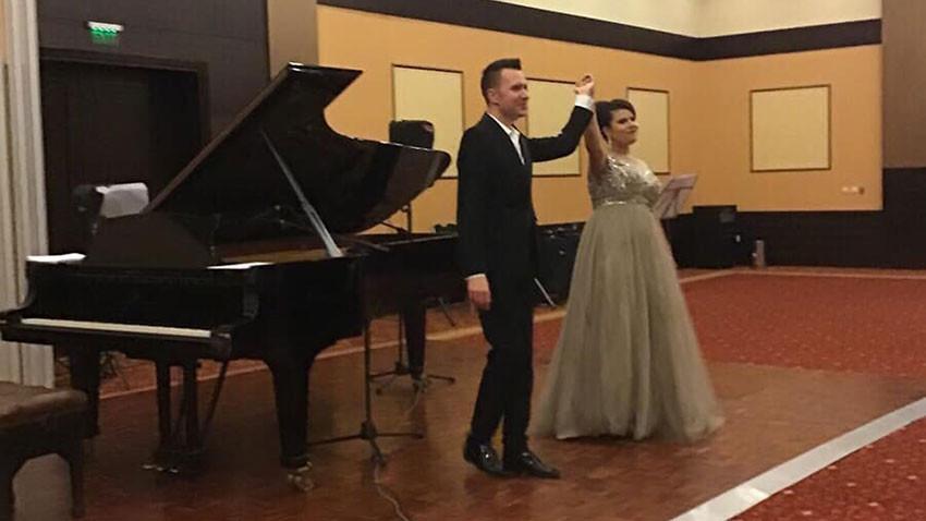 Мила Михова и Николай Стойков
