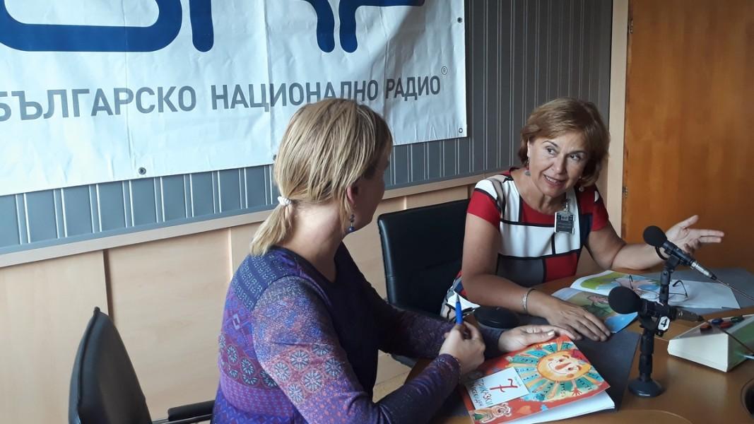 Илка Бирова (д) в разговор със Славена Илиева