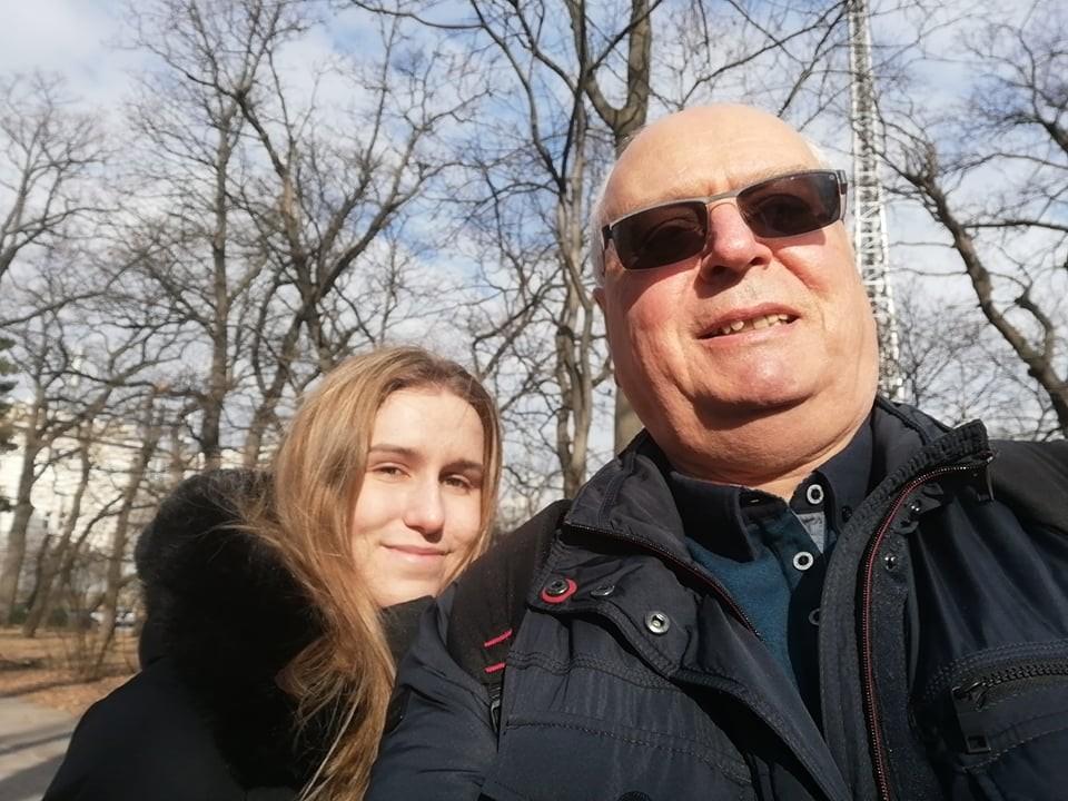 Гергана Топалова и Любомир Тодоров след разговора.