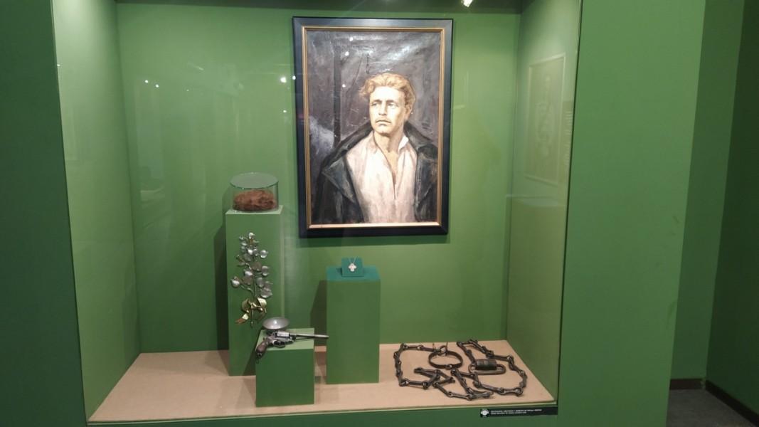 Кът за Васил Левски в Националния военноисторически музей.                Снимка: Добромир Видев