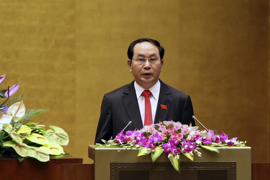 Президентът Виетнам Чан Дай Куанг, който почина на 20 септември
