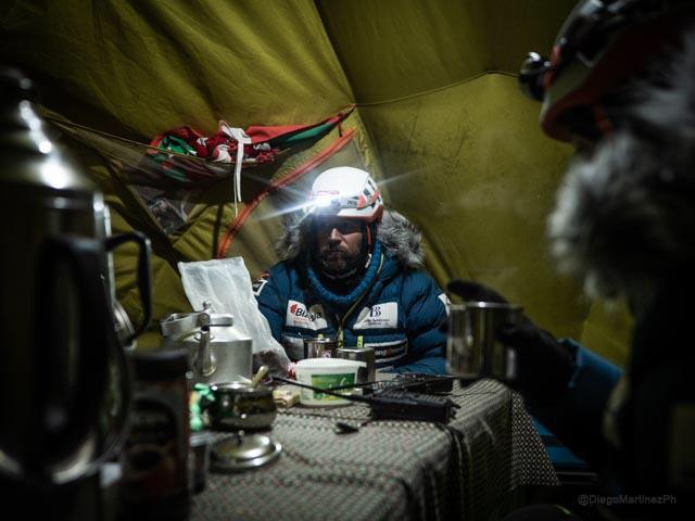 Чикон в Баозв лагер