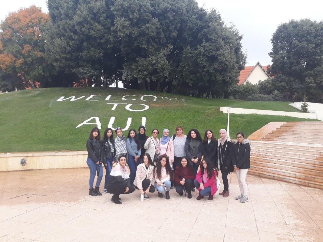 В университета - със студенти и колеги
