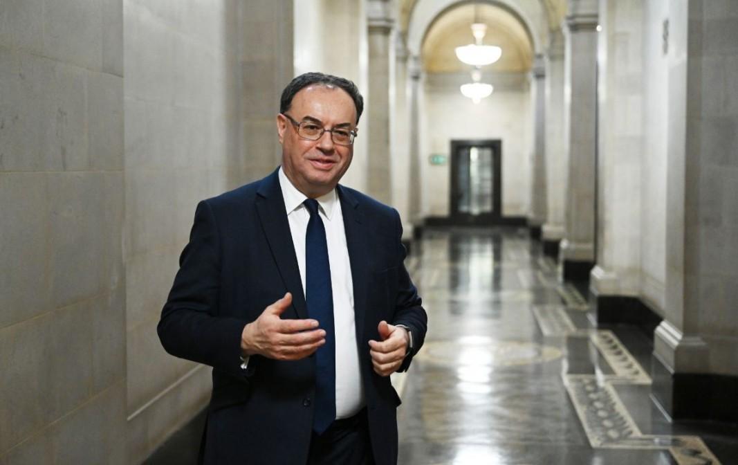 Андрю Бейли, управител на Английската централна банка