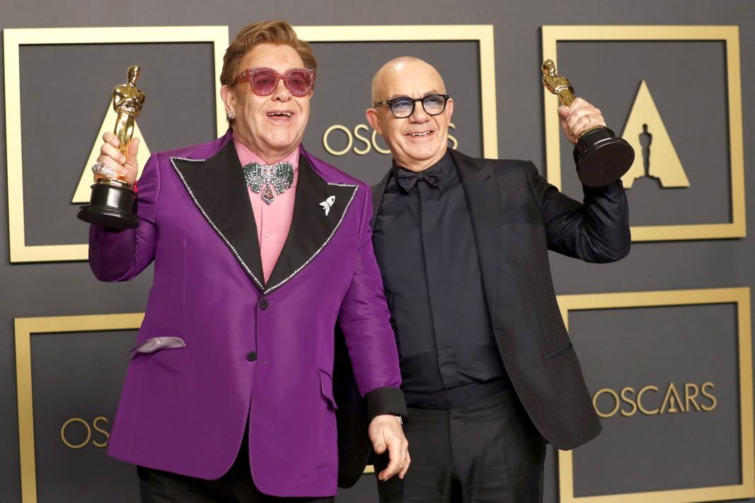 Елтън Джон и Бърни Топин взеха наградата за оригинална песен