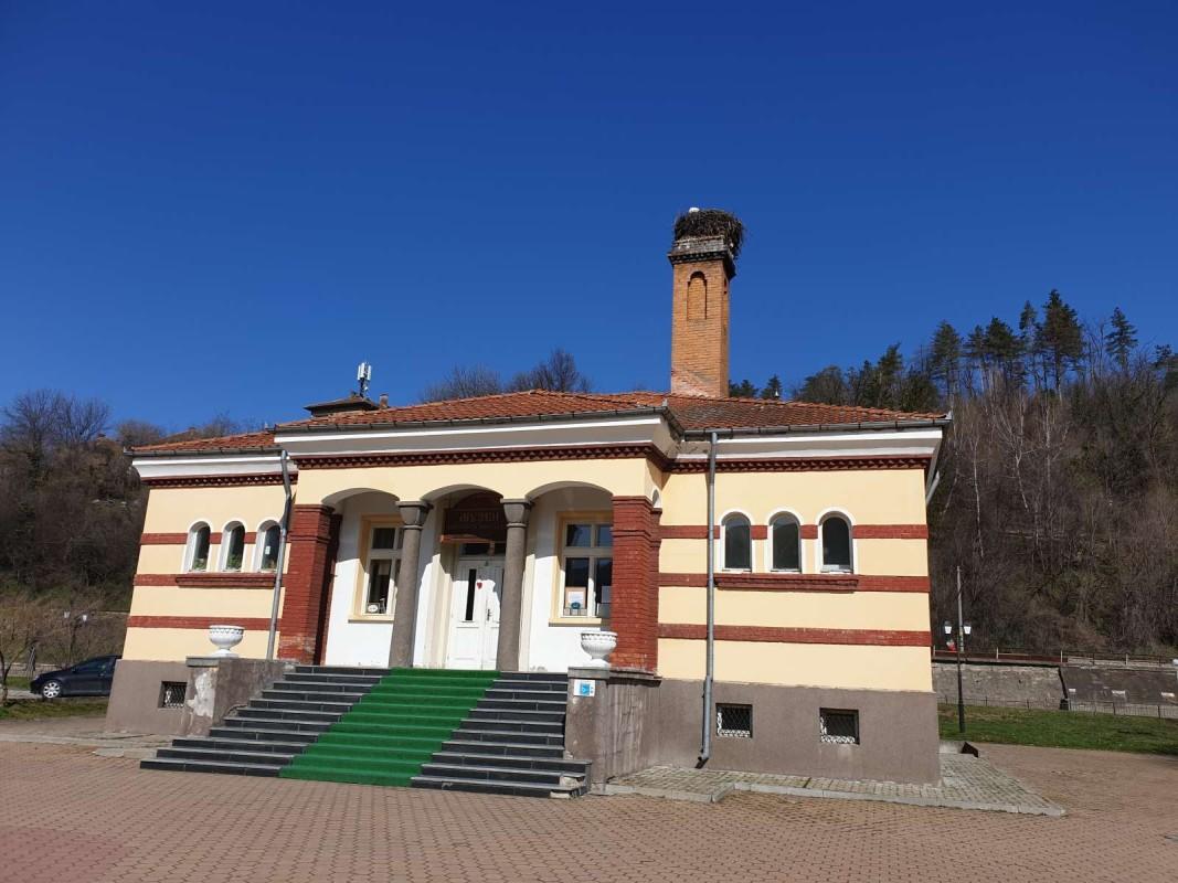Старата баня в центъра на Трявна, която е превърната в музей