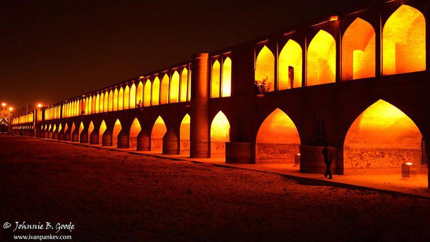 Le Pont des 33 arches, Ispahan, Iran