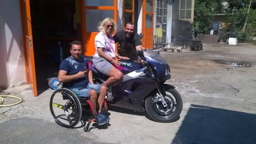 Евгения Кусева на мотор