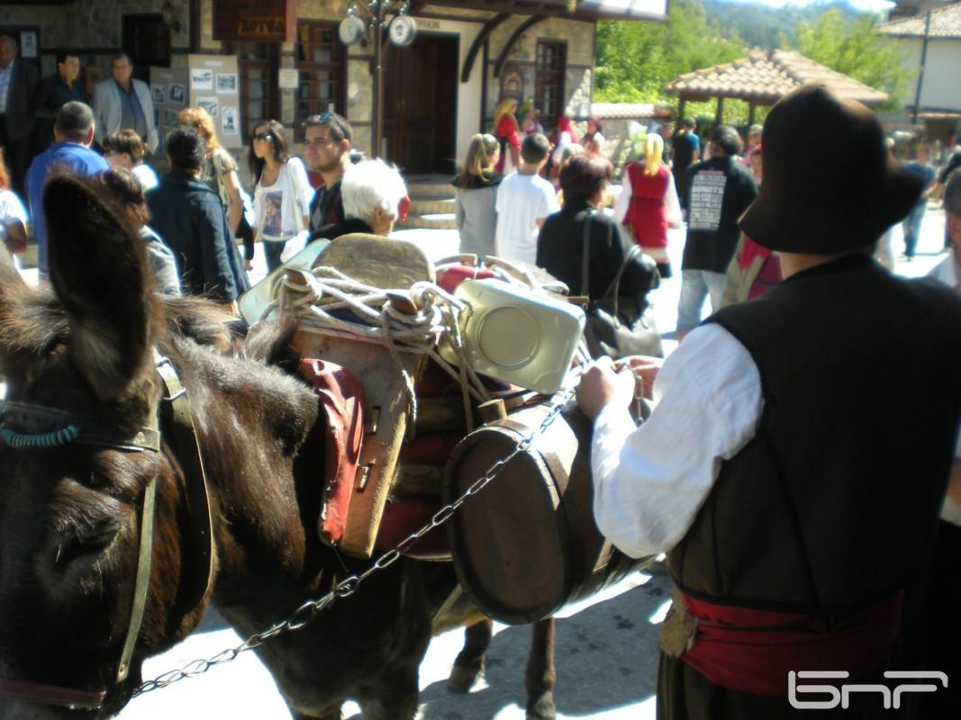 Един пазарен ден в Златоград от преди 100 години