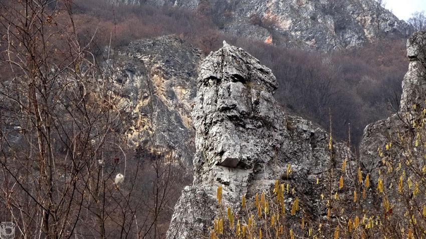 Le prêtre guérrier - Zemen, figure antropomorphe